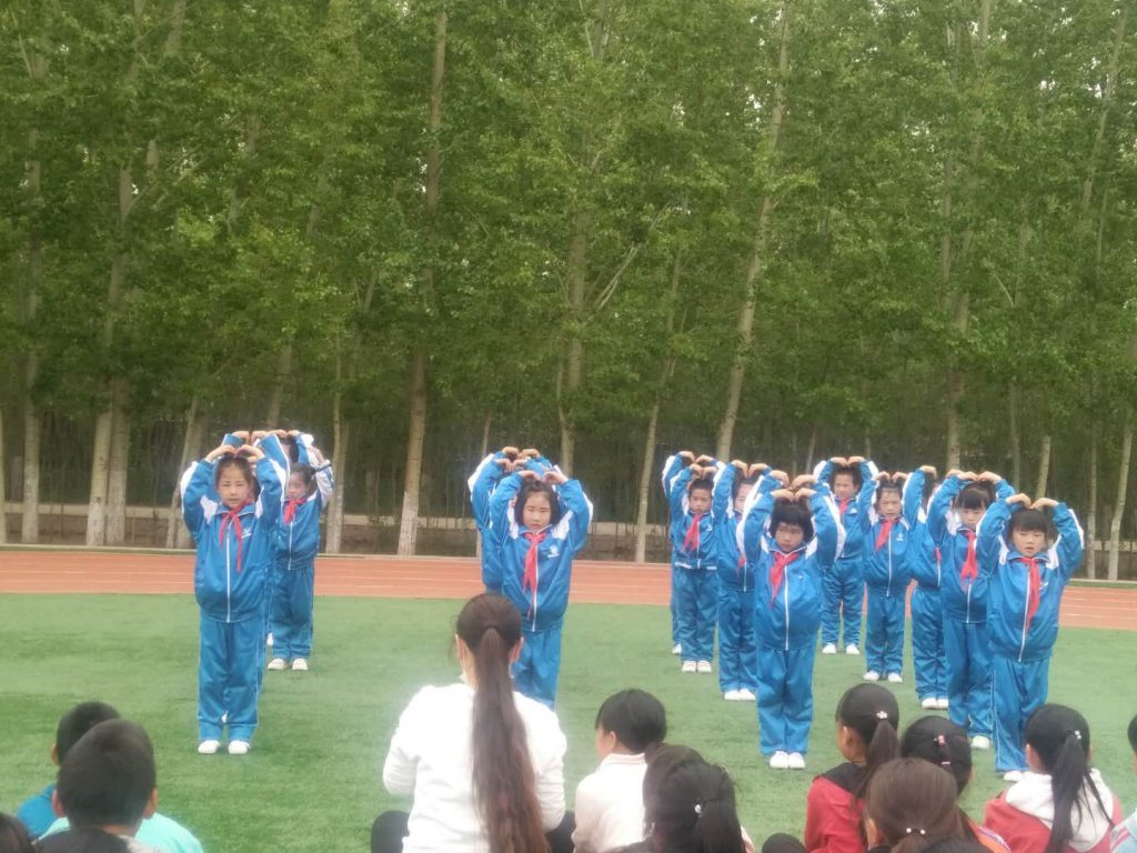 惠兰小学建校14周年庆典